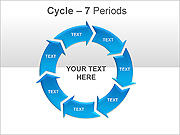 Arrows Around Circles PPT Diagrams & Charts