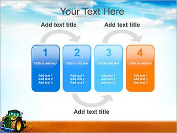 Tracteur dans le champ Modèles des présentations  PowerPoint - Diapositives 11