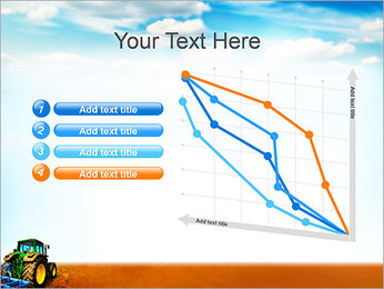 Tracteur dans le champ Modèles des présentations  PowerPoint - Diapositives 13