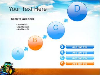 Tracteur dans le champ Modèles des présentations  PowerPoint - Diapositives 15