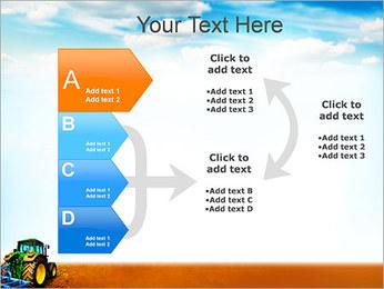 Tracteur dans le champ Modèles des présentations  PowerPoint - Diapositives 16