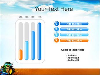 Tracteur dans le champ Modèles des présentations  PowerPoint - Diapositives 18