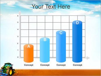 Tracteur dans le champ Modèles des présentations  PowerPoint - Diapositives 21