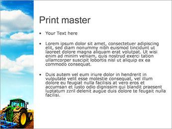Tracteur dans le champ Modèles des présentations  PowerPoint - Diapositives 24