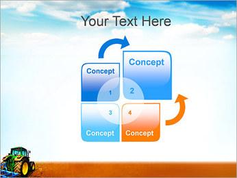 Tracteur dans le champ Modèles des présentations  PowerPoint - Diapositives 5