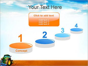 Tracteur dans le champ Modèles des présentations  PowerPoint - Diapositives 7