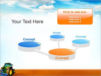 Tracteur dans le champ Modèles des présentations  PowerPoint - Diapositives 9