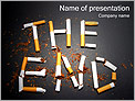 Smoking THE END PowerPoint Templates - Slide 1