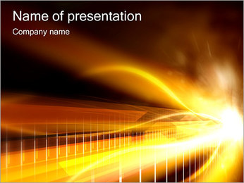 Abstract Shine PowerPoint Template