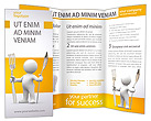 Man with Spoon and Fork Brochure Templates
