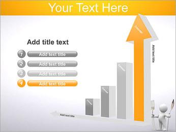 Homem com colher e forquilha Modelos de apresentações PowerPoint - Slide 6