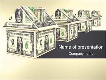 Dolar Dom Szablony prezentacji PowerPoint