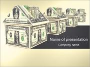 Dollar House PowerPoint Templates