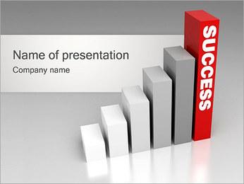 Groei naar Succes Sjablonen PowerPoint presentatie