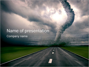 Tornado PowerPoint Template