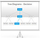 Tree Decision PPT Diagrams & Chart