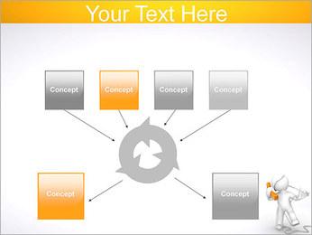 Enredado en teléfono Plantillas de Presentaciones PowerPoint - Diapositiva 10