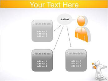 Enredado en teléfono Plantillas de Presentaciones PowerPoint - Diapositiva 12