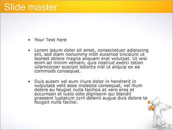 Enredado en teléfono Plantillas de Presentaciones PowerPoint - Diapositiva 2