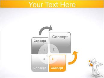 Enredado en teléfono Plantillas de Presentaciones PowerPoint - Diapositiva 5