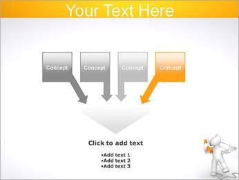Enredado en teléfono Plantillas de Presentaciones PowerPoint - Diapositiva 8