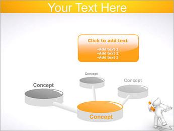 Enredado en teléfono Plantillas de Presentaciones PowerPoint - Diapositiva 9