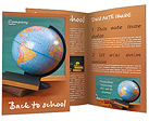 Education Desk Brochure Templates