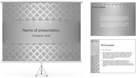 Conception Argent Modèles des présentations  PowerPoint