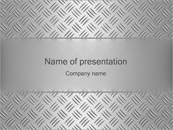 Silver Design PowerPoint Template