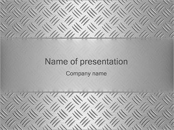 Zilver Ontwerp Sjablonen PowerPoint presentatie