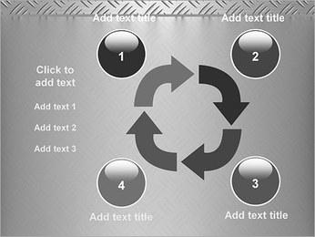 Conception Argent Modèles des présentations  PowerPoint - Diapositives 14