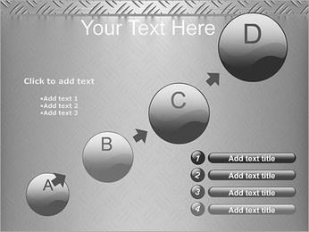 Conception Argent Modèles des présentations  PowerPoint - Diapositives 15