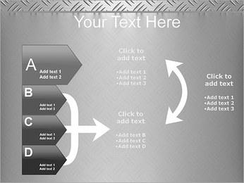 Conception Argent Modèles des présentations  PowerPoint - Diapositives 16