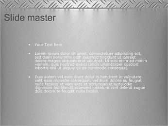 Conception Argent Modèles des présentations  PowerPoint - Diapositives 2