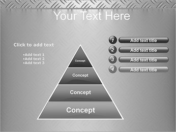 Conception Argent Modèles des présentations  PowerPoint - Diapositives 22