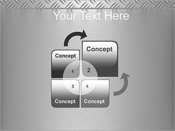 Conception Argent Modèles des présentations  PowerPoint - Diapositives 5