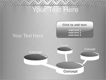 Conception Argent Modèles des présentations  PowerPoint - Diapositives 9