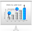 Growing Business PPT Diagrams & Chart