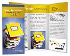 Homework Copybooks Brochure Template