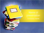 Inlämningscopybooks PowerPoint presentationsmallar