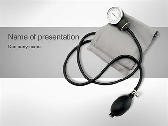 Sphygmomanometer PowerPoint Template