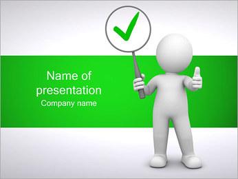 Marca de verificação OK Modelos de apresentações PowerPoint