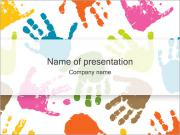 Hand Prints PowerPoint Templates
