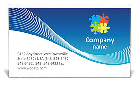 Collective Works Business Card Template