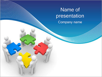 Collective Works PowerPoint Template