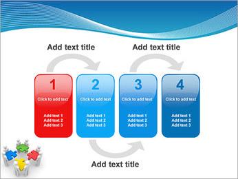 Obras Coletivas Modelos de apresentações PowerPoint - Slide 11