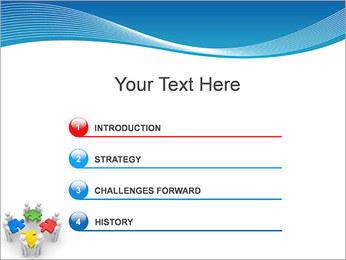 Obras Coletivas Modelos de apresentações PowerPoint - Slide 3