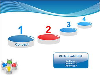 Obras Coletivas Modelos de apresentações PowerPoint - Slide 7
