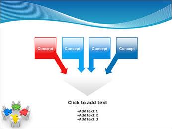 Obras Coletivas Modelos de apresentações PowerPoint - Slide 8