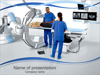 X-ray Equipment PowerPoint Template